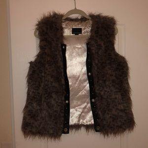 Leopard Vest | Cynthia Rowley